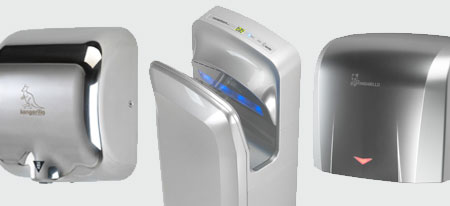 Silver Hand Dryers