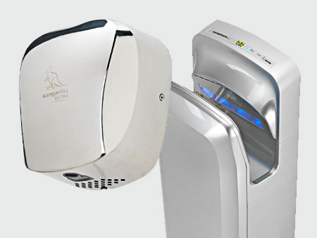 The 3 types of hand dryer: how to use them