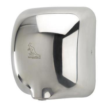 Kangarillo 2 ECO hand dryer in stainless steel