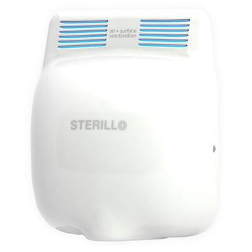 Sterillo Duo Germ and Virus Killing Hand Dryer - Stainless Steel